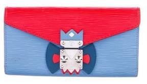 Louis Vuitton Epi Mask Sarah Wallet