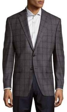Lauren Ralph Lauren Wool Check Suit Jacket