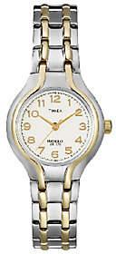 Timex Ladies' Two-Tone Sporty Dress Bracelet Wa tch