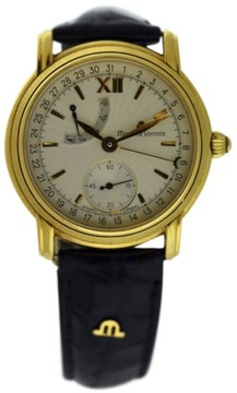 Maurice Lacroix Masterpiece Power Reserve 18K Yellow Gold 38mm Watch