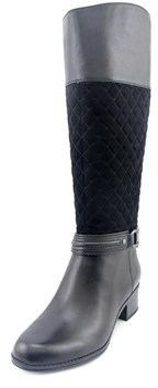 Bandolino Classie Round Toe Leather Knee High Boot.