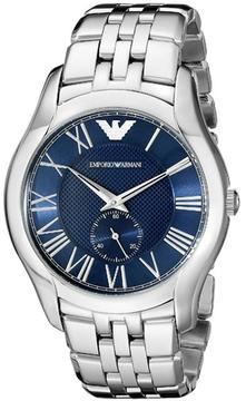 Giorgio Armani Emporio Classic AR1789 Men's Stainless Steel Watch with Blue Dial