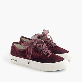J.Crew SeaVees® for Legend sneakers in velvet