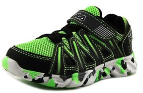 Fila Crater 7 Toddler Round Toe Synthetic Green Sneakers.