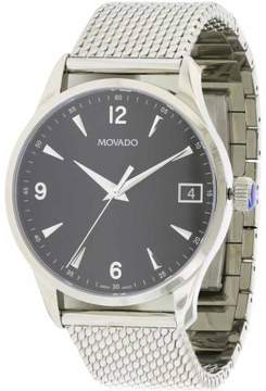 Movado Circa Stainless Steel Mesh Men's Watch, 0606802