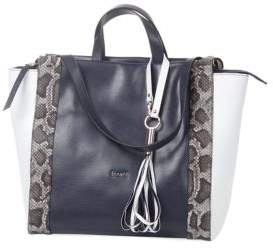 Laurel Cipro Double Handle Leather Tote
