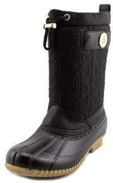 Tommy Hilfiger Romea Women US 10 Black Rain Boot