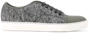 Lanvin printed toe-capped sneakers