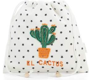 Kate Spade Star Mela El Cactus Drawstring Pouch