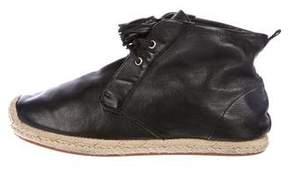 3.1 Phillip Lim Leather Oxford Espadrilles