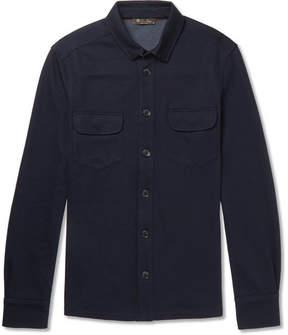 Loro Piana Double-Faced Jersey Overshirt