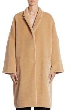 Brunello Cucinelli Alpaca Notched Coat