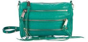 Rebecca Minkoff Mini 5-Zip Crossbody Bag - GREEN - STYLE