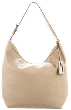 Max Mara Grained Leather Hobo
