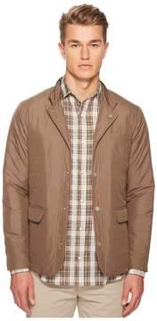 Eleventy Nylon Hybrid Snap Front Jacket Men's Coat