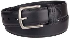 Columbia Men's Feather-Edge Leather Belt