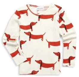 Mini Rodini Baby's, Toddler's, Little Girl's & Girl's Dogs Long Sleeve Cotton Tee