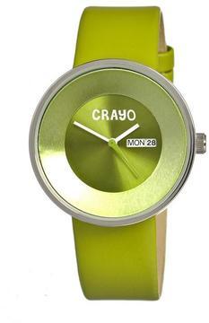 Crayo Button Collection CR0203 Unisex Watch