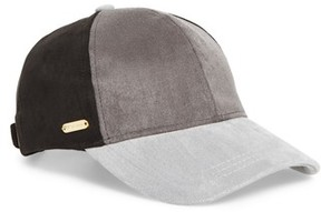 Steve Madden Women's Color Block Baseball Cap - Black