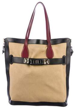 Proenza Schouler Canvas & Leather PS11 Tote