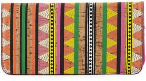 Neiman Marcus Multicolor Slim Travel Organizer