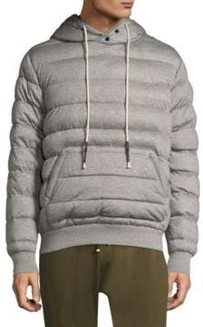Mostly Heard Rarely Seen Quilted Hoodie Sweater