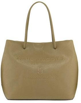 Marc Jacobs East-West Saffiano Leather Tote Bag - HUNTER - STYLE