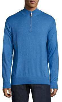 Peter Millar Crown Soft Heathered Pullover