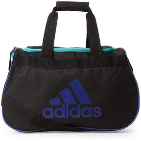 adidas Black & Purple Diablo Small Duffel Bag