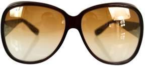 Bottega Veneta Brown Plastic Sunglasses
