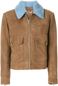 Dondup contrast colour short coat