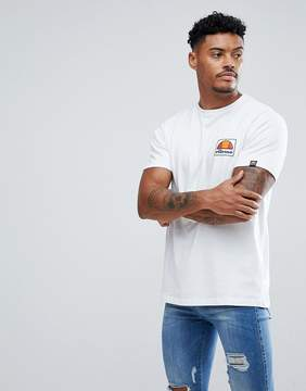 Ellesse T-Shirt With Small Logo In White
