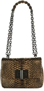 Tom Ford Small Python Natalia Shoulder Bag