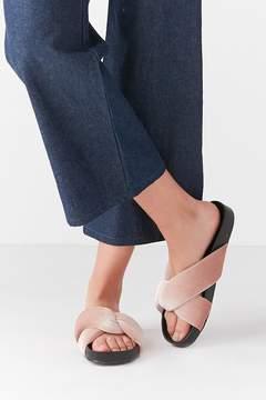 Urban Outfitters Velvet Knot Slide