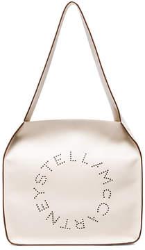 Stella McCartney White Stella logo tote bag