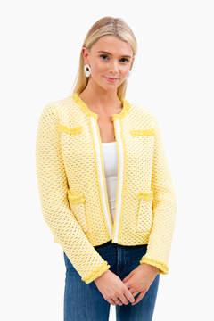 525 America Cotton Tweed Knit Jacket