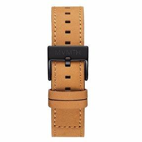 MVMT Mens Chrono 40mm Series 20mm Tan Leather