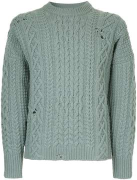 Kent & Curwen chunky knit jumper