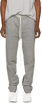 Fear Of God Grey Zip Lounge Pants