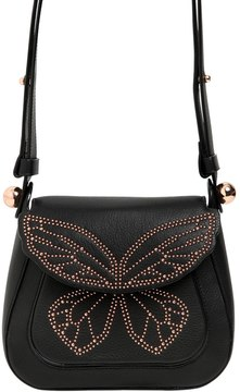 Sophia Webster Evie Stud Butterfly Leather Shoulder Bag