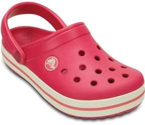 Crocs Tofflor, Kids Crocband, Raspberry/White