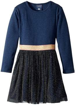 Toobydoo Gold Shimmer Party Dress Girl's Dress