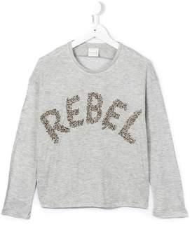 Diesel rebel embellished top