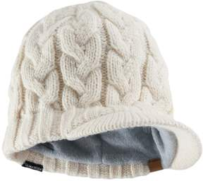 adidas Women's Crystal Chunky Cable Knit Brimmer Beanie