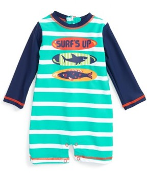 Hatley Infant Boy's Surfboards One-Piece Rashguard Swimsuit