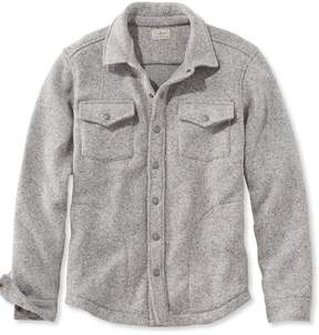 L.L. Bean L.L.Bean Sweater Fleece Shirt-Jac