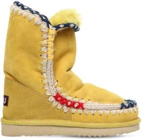 Mou 20mm Eskimo Pop Shearling Sneakers