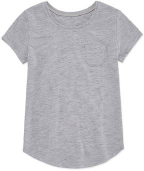 Arizona Short Sleeve Solid Fave Tee - Girls' 4-16 & Plus