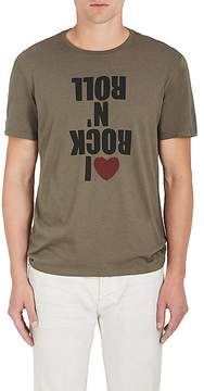 John Varvatos Men's Graphic Cotton-Blend T-Shirt