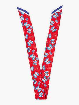 Talbots Spring Butterfly Mini Scarf
